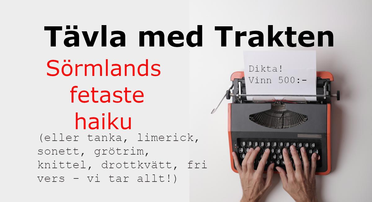 Tävling Sörmlands fetaste haiku