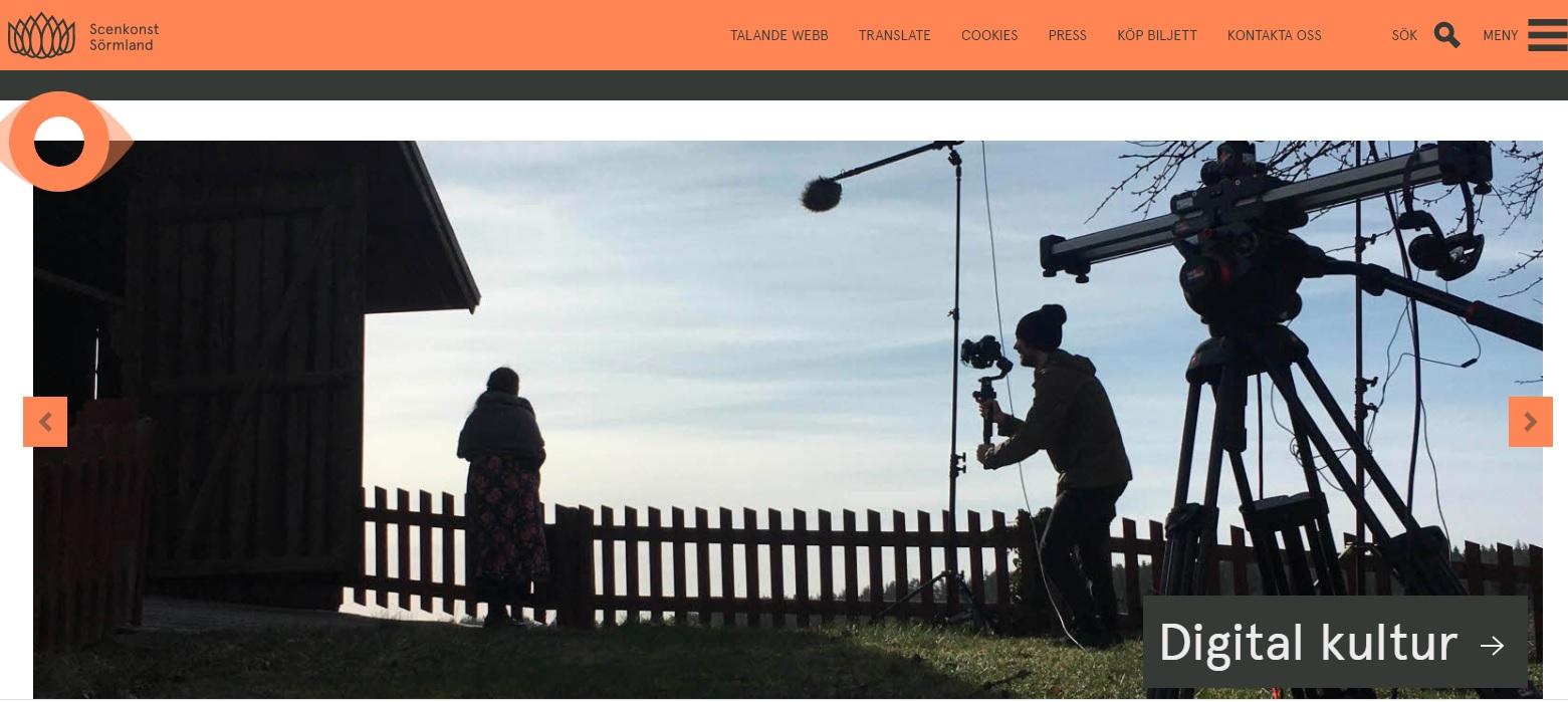 Digital scenkonst Sörmland