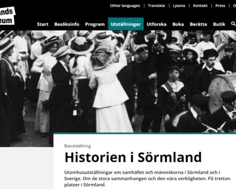 Historien i Sörmland