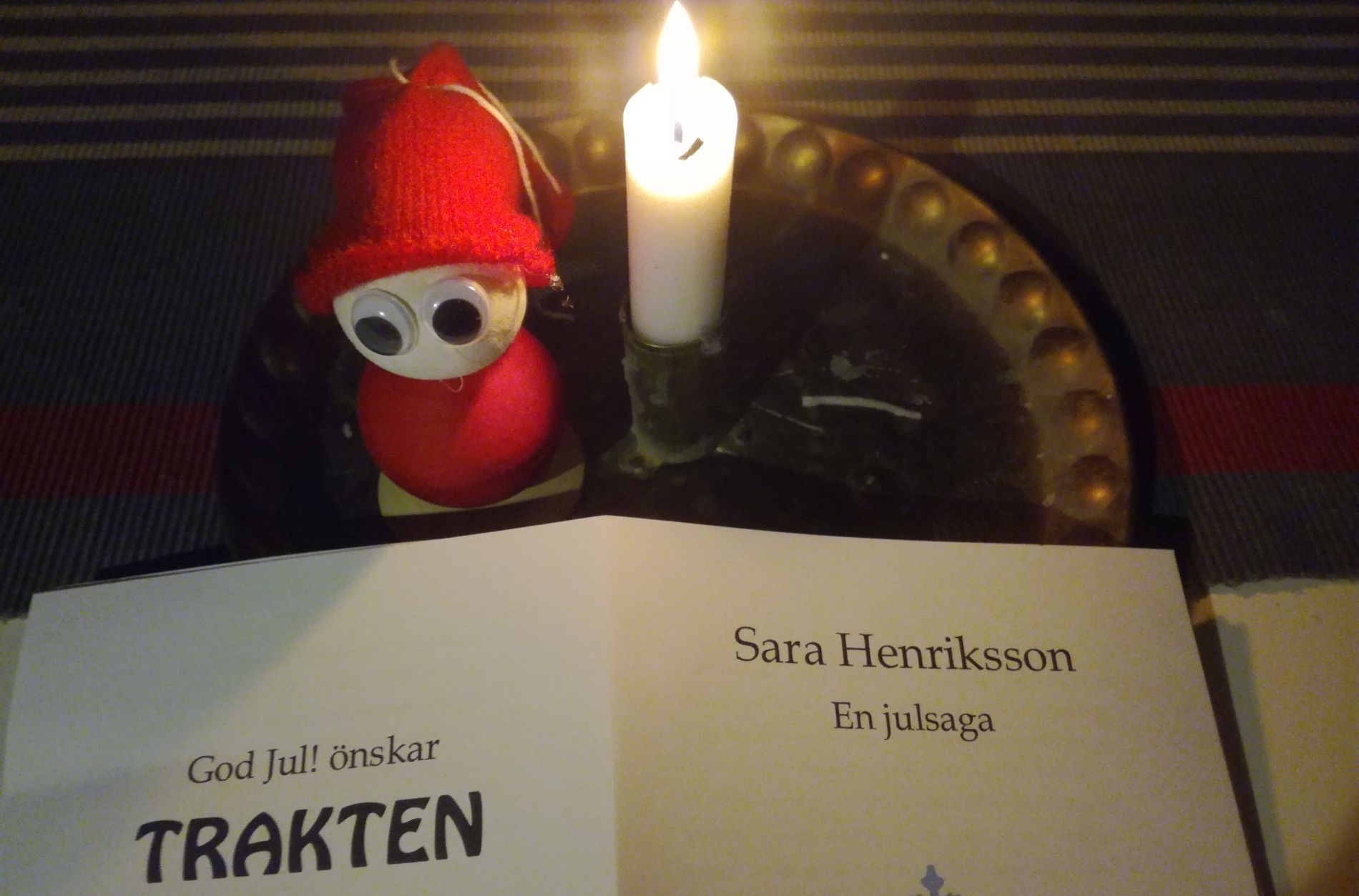 Trakten Julsaga Sara Henriksson