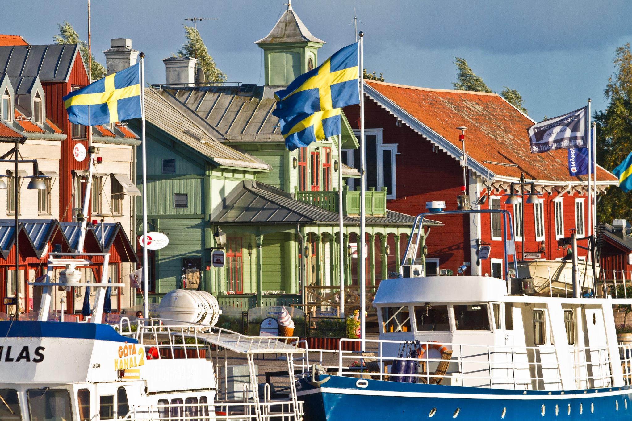 Nyköpings hamn idag. Nästan alla rätt. Foto: Christian Holmér, (CC BY 2.0)